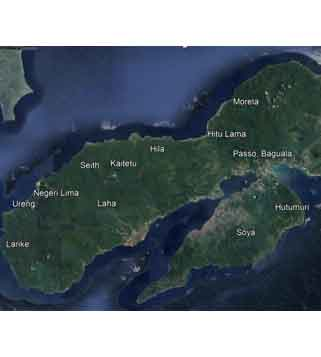 The toponymy of the villages in Ambon Island: a historical and archaeological study
